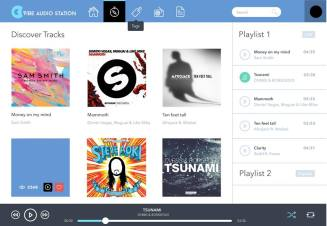 Vibe Audio Station Online Player