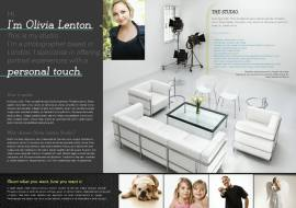 Photo Studio 1 Page Website