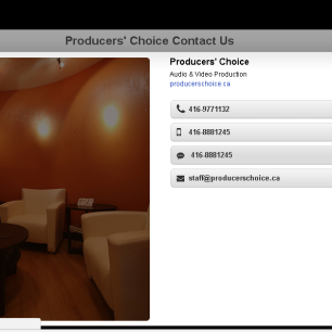 Producers Choice Contact Website